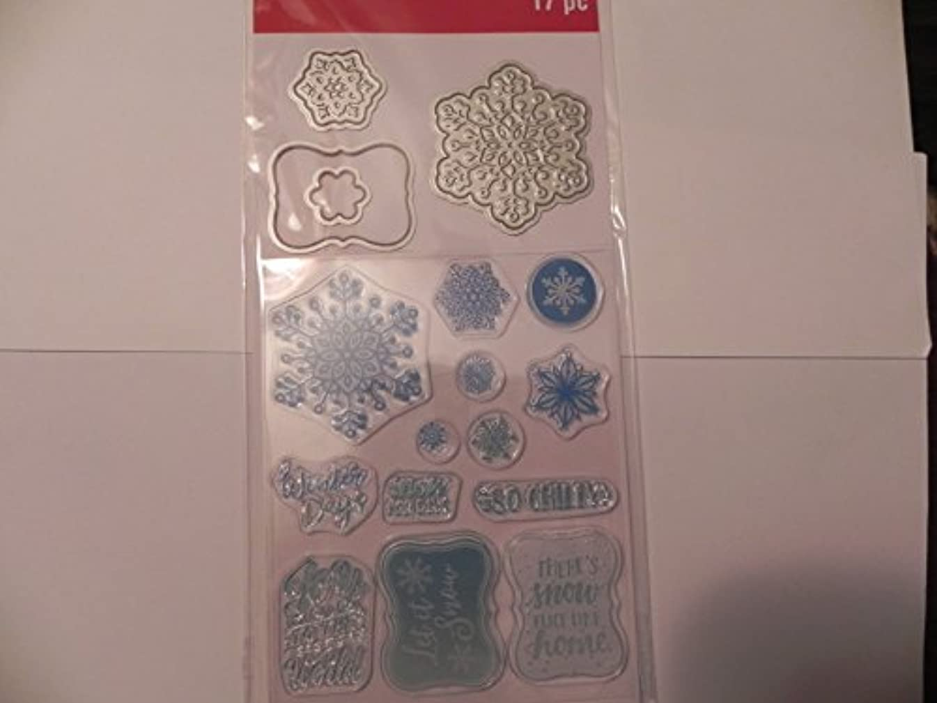 Recollections Christmas Stamp & Die, Snowflakes