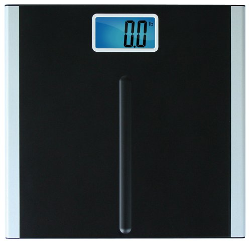 EatSmart Precision Premium Digital Bathroom Scale with 35quot LCD and quotStepOnquot Technology