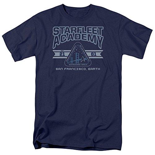 Star Trek Starfleet Academy Earth Blue T-Shirt - XXXX-Large