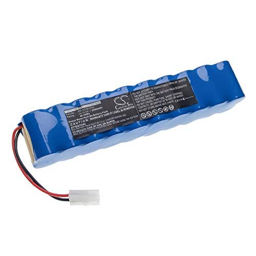 vhbw Batería Recargable Compatible con Rowenta Air Force Extreme RH877101 / 8M 0, RH877101/9A0 aspiradora, Robot de Limpieza (2000 mAh, 24 V, NiMH)