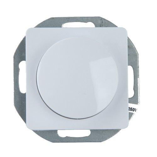 UNITEC 42030L Dimmer-Einsatz, Genua, ultraweiߟ