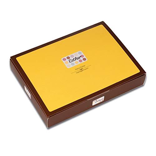 Esther 8er Klassikpackung - 95g Trüffel und Pralinen mit Alkohol | edles Geschenk für Weihnachten, Ostern, Vatertag oder Muttertag