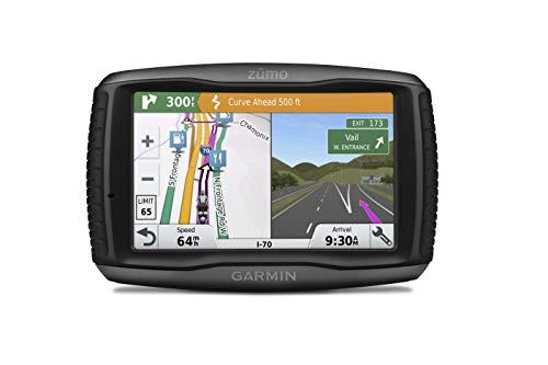 Garmin Zumo 595LM EU Navigatore per Moto Avanzato, Mappa Italia e Europa Completa, Spotify e Funzioni Smart, Display 5.0in, Nero/Grigio (Ricondizionato) )