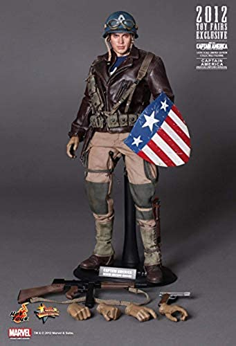 Hot Toys MMS180 - Marvel Comics - Captain America The First Avengers Rescue vers