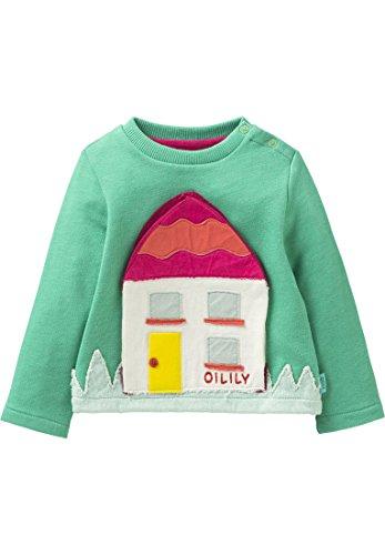 Oilily Pullover House grün für Mädchen YS18GHJ042
