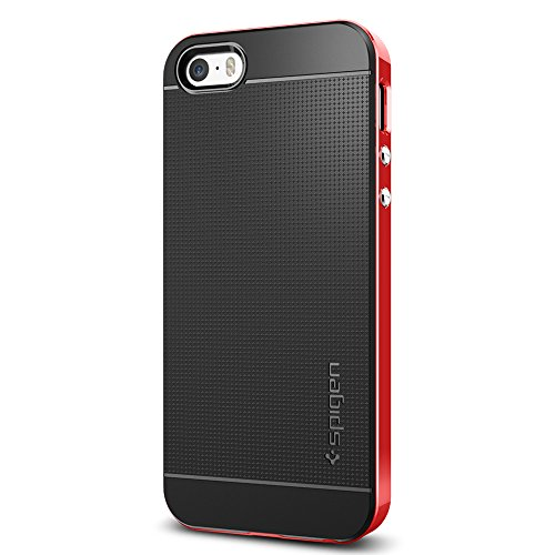 Spigen Neo Hybrid Designed for Apple iPhone SE Case (2016) - Dante Red