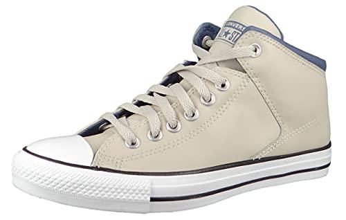 Converse Herren High Sneaker Chuck Taylor All Star High Street 171373C Beige, Groesse:45 EU