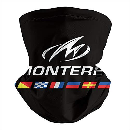 Pupkitten Seamless Face Mask Headband Monterey-Boats-White-Logo- Multifunctional Headwear Neck Gaiter Balaclava for Dust Outdoor Sports Fishing