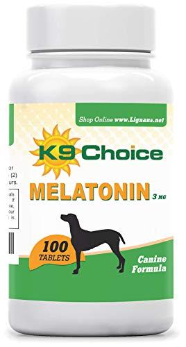 K9 Choice Melatonin 3 mg 100 Tablets