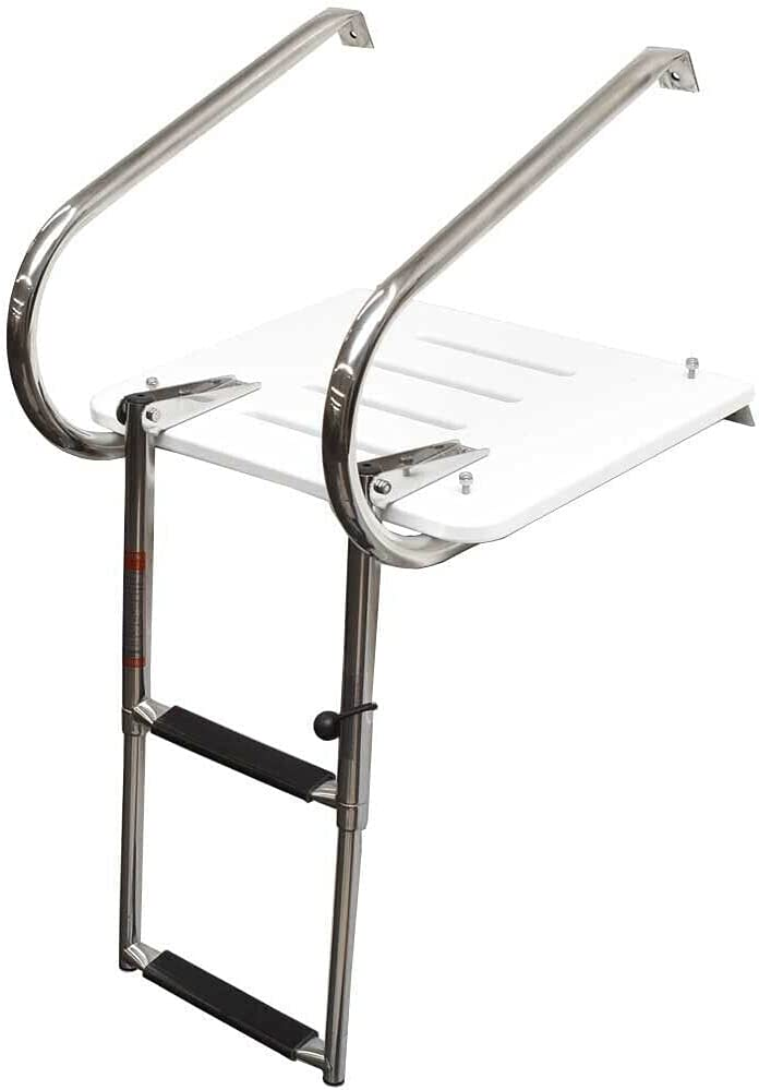 ZLLY Jet Boat Telescoping Ladder Swim Platform Inch Max 64% OFF trend rank 2 33 Step
