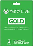 Xbox Live Gold - 3 Meses Microsoft - Xbox One Standard Edition