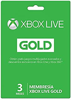 Xbox Live Gold - 3 Meses Microsoft - Xbox One - 3 meses Edition