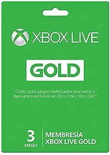 Xbox Live Gold - 3 Meses Microsoft - Xbox One - 3 meses Edition