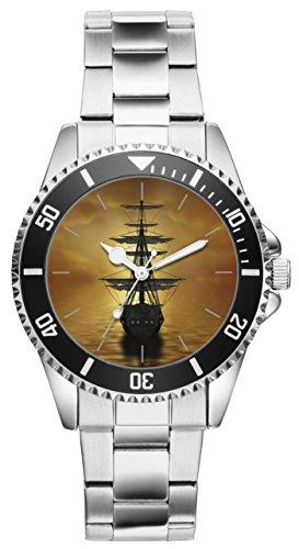 Geschenk für Segler Yachtfans Seemann Uhr 20007