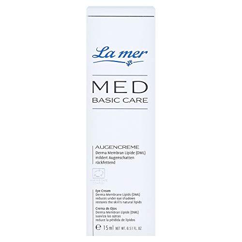 LA MER MED Basic Care Augencreme ohne Parfum 15 Milliliter