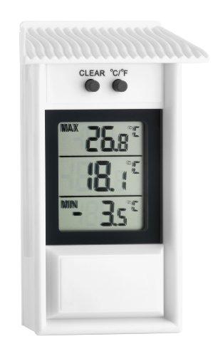 TFA Dostmann Digitales Maxima-Minima-Thermometer, wetterfest, für innen oder außen geeignet