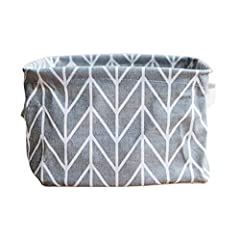 ❀Material: linen + pu (waterproof) ❀100% brand new and high quality. ❀Size: 20 * 15 * 13cm/7.9 * 5.9 * 5.1 inches (approx) ❀storage bags storage bags space saver storage bags for clothes storage bags space saver jumbo storage bins storage bins with l...