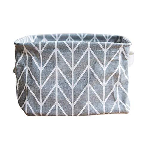 ReNext Storage Bins, Foldable Colors Storage Bin Closet Toy Box Container Organizer Fabric Basket