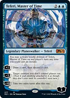 Magic: The Gathering - Teferi, Master of Time (277) - Alternate Art - Core Set 2021