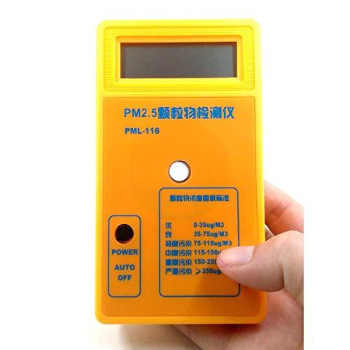 DZSF Air Quality Monitor PM2.5 Detector Partikelstaubluft Tester Schutz Empfindlicher Sensor Genaue Rapid Reaction PM 2.5 Analyzer
