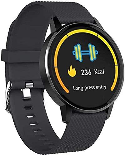 JSL Reloj de fitness Reloj inteligente para mujer, Bluetooth, impermeable, ritmo cardíaco, presión arterial, oxígeno en la sangre, ejercicio físico