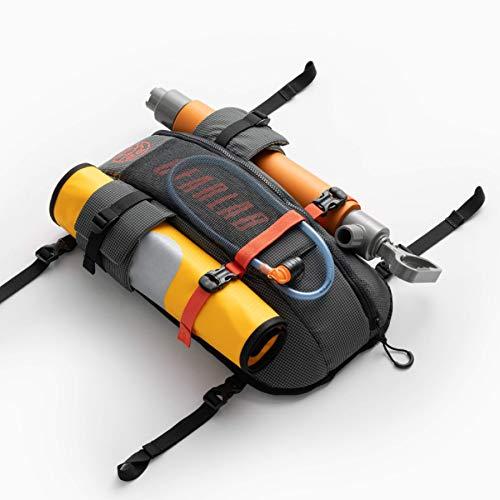Gearlab Deck Pod - Kayak Deck Bag, Paddling Magazine Award, Holds Paddle Float, Bilge Pump