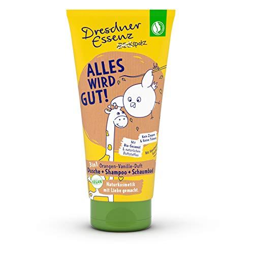 Dresdner Essenz Dreckspatz Duschbad & Shampoo für Kinder