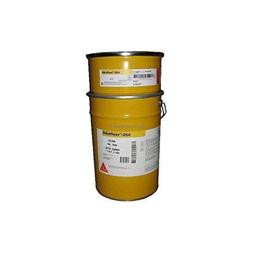 SikaFloor-264 - Farbiges Epoxidharz für Industrieböden - Sika - 30 kg, RAL 7035