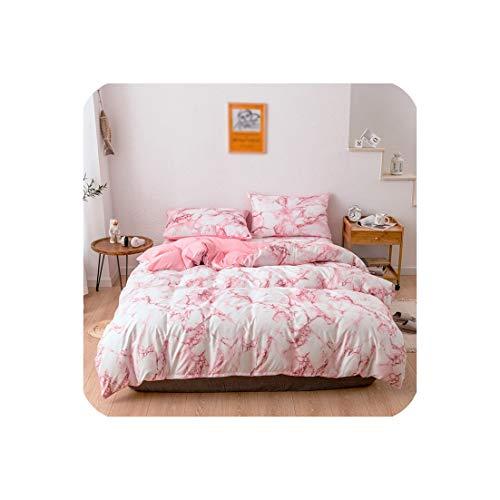 Goods-Store-uk beddengoed sets dekbedovertrek Set 2/3 stks Single Queen King Size Comforter Sets Bed Quilt Cover Flat Sheet Kussenslopen