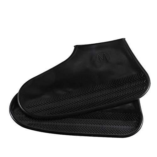 Yongqin Fundas Para Zapatos Impermeables Impermeables Fundas Para Zapatos De Lluvia Tamaño Grande 30-44 Goma Elástica Tensión Antideslizante Otoño Mujeres/Hombres Fundas Para Botas De Lluv