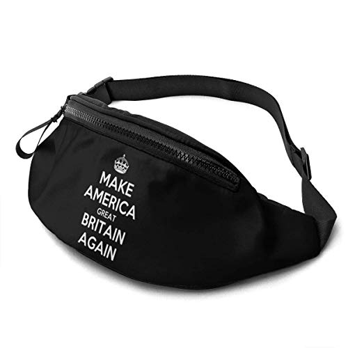 Sac Tour de Taille Tour de Taille Poche Make America Great Britain Again Runner 's Tour de Taille Sac Banane
