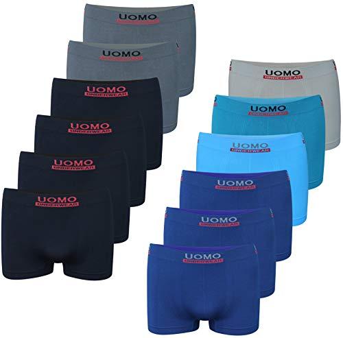 PiriModa 12 Pack Kinder Jungen Boxershorts (158-170 (14-16Jahre), Modell 19-12 STÜCK)