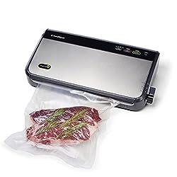 FoodSaver FM2435-ECR Vacuum Sealing System with Bonus Handheld Sealer and Starter Kit, Silver