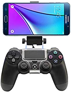 For Samsung Smart Phone 4 inch to 6 inch - Game Controller Mount Clip Holder for PlayStation 4 PS4