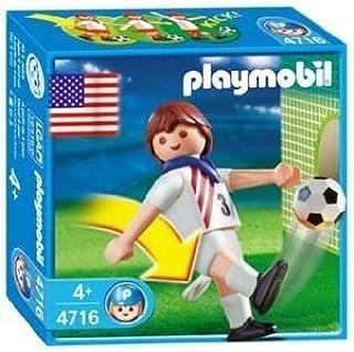 PLAYMOBIL® 4716 JUGADOR DE FÚTBOL EEUU: Amazon.es: Juguetes y juegos