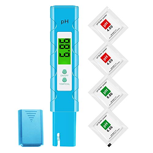 ph Meter for Plants - High Accuracy pH Meter for Drinking Water Aquarium and Hydroponics