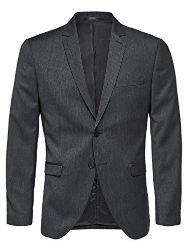 SELECTED HOMME Herren Blazer Slim Fit 54Grey