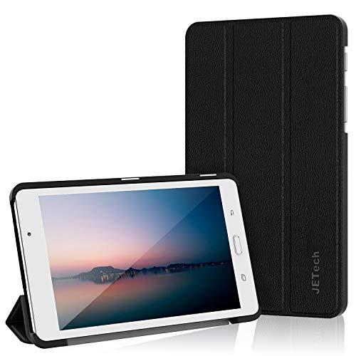 JETech Custodia per Samsung Galaxy Tab A 7,0 (T280 T285), Cover con Funzione di Supporto, Auto Svegliati Sonno, Nero
