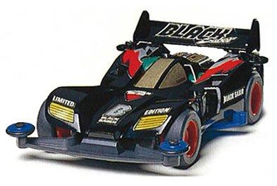 Mini4WD Let's Go Black Saber