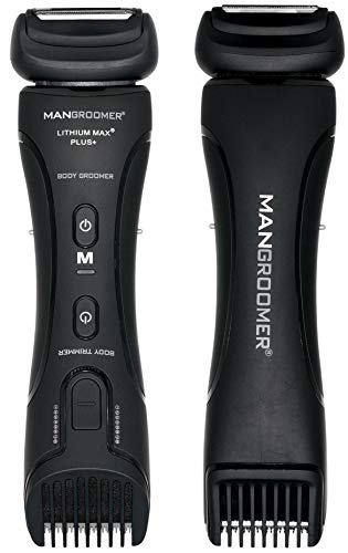 MANGROOMER - Lithium Max Plus+ Body Groomer, Ball Groomer & Body Trimmer With...