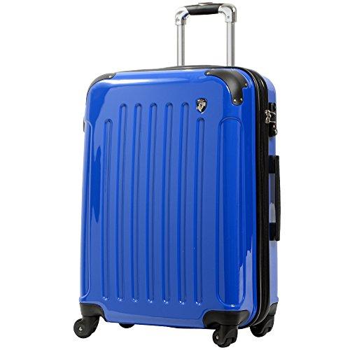 MS型 シルクホワイト / KY-FK37 TSAロック搭載 キャリーケース スーツケース 鏡面加工 (3?5日用)