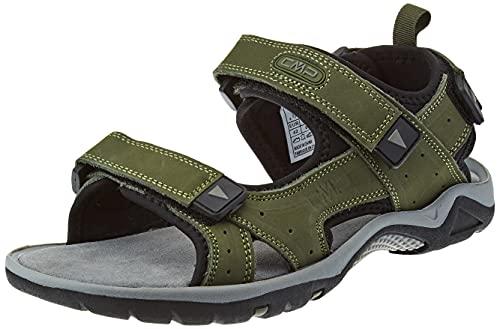 CMP Almaak Hiking Sandal, Uomo, Torba Antracite, 46 EU
