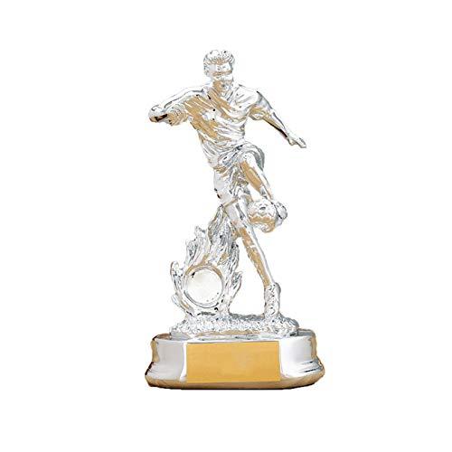 DYYPPWW Trofeo Bota De Oro Premios Deportivos FúTbol Copa Trofeo De CompeticióN Pionero del FúTbol,Resina,Fan Souvenirs,Plata