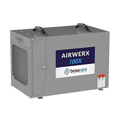 BaseAire AirWerx100X Whole House Dehumidifier