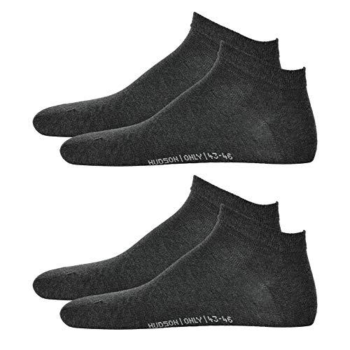 Hudson 4 Pares Zapatillas de Hombre Calcetines - Only, Fuessling, Invisible, Liso...