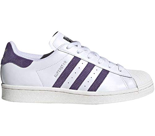 adidas Originals Superstar Zapatillas para mujer, color blanco EU 37 1/3 - UK 4,5, Blanco, EU 40 - UK 6,5