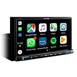 Alpine Electronics iLX-702D Digital Media Receiver 2DIN mit DAB, Schwarz