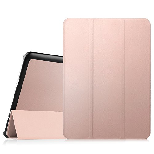 FINTIE SlimShell Case for Samsung Galaxy Tab S2 9.7-inch Tablet (SM-T813 / SM-T819) - Super Thin Lightweight Stand Cover with Auto Sleep/Wake Feature, Rose Gold