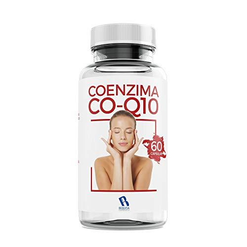Coenzima Q10 * 200 mg - Colágeno Q10 - Reafirma y Cuida tu Piel - Antiedad - Calcio + Magnesio + Fósforo - Articulaciones Sanas -Suplemento Para Una Piel Radiante - 60 Cápsulas