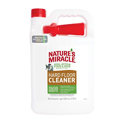 Nature's Miracle P-98226 Hard Floor Cleaner, Updated, 128 Oz.